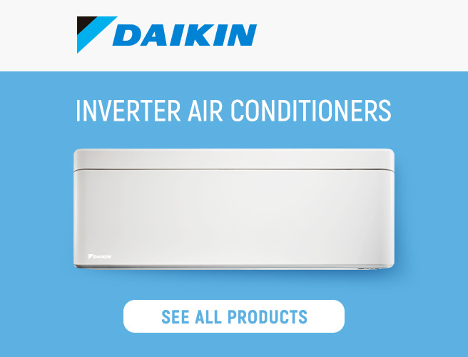 Inverter air conditioners Daikin