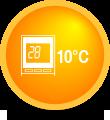 Функция за постепенно охлаждане на температурата