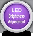 Настройка на яркостта на светлинните индикатори