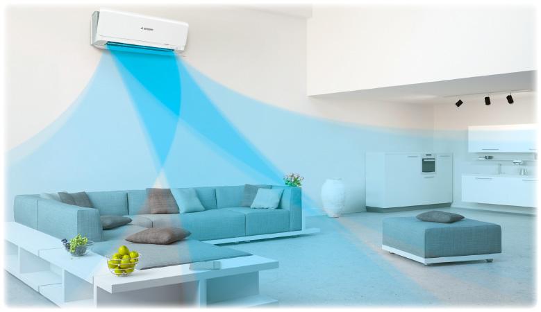 Пълен контрол на въздушния поток с 3D AUTO