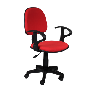 Office chair Carmen 6012 - red - 1
