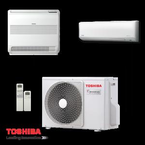 Multi Split System Toshiba Ras 2m18s3av E External Unit