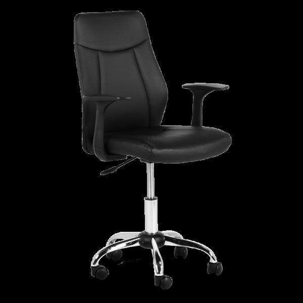 Офис стол Carmen 6045 - черен - 1