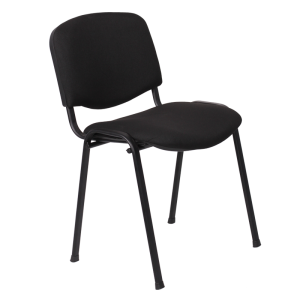 Visitor chair Carmen 1130 LUX - black - 1