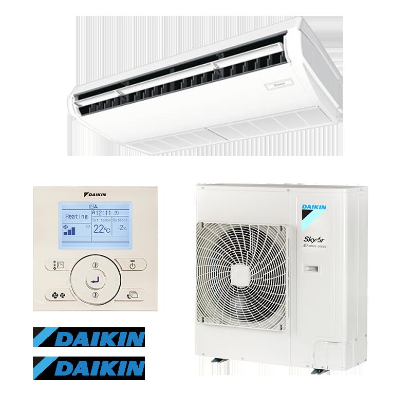 Ceiling Air conditioner Daikin FHA140A9 / RZASG140MY1 - 3-phase