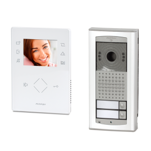 Family video doorphone system Farfisa ZH1262AGLW