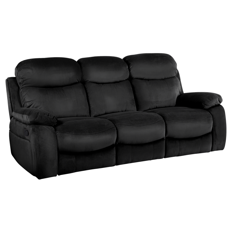 Recliner Sofa 3 Seater Selena, Reclining Sofa Bed Couch