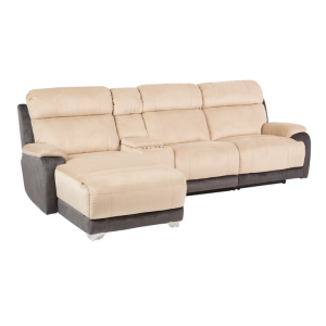 Recliner HERA - cream / graphite - 1