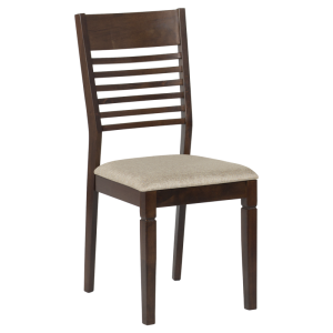 Dining chair PAOLA - cacao / beige - 1