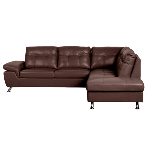 Pure Leather Sofa Sets: Chestnut, Price 1625.93 EUR
