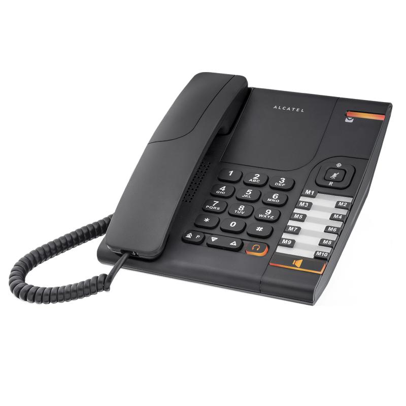 Alcatel Temporis 380 Black Price 29 54 Eur Corded