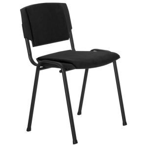 Visitor chair PRIZMA LUX - black - 1