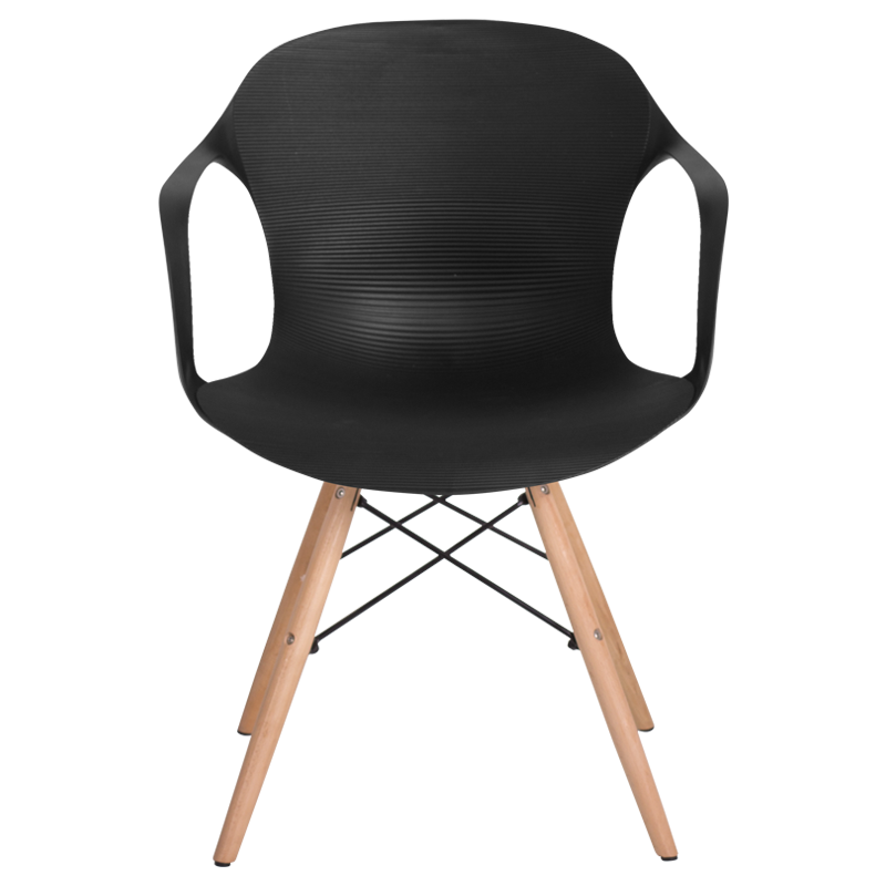 New Dining chair Carmen 9964 black 2 Trending - Simple black plastic chairs For Your Plan