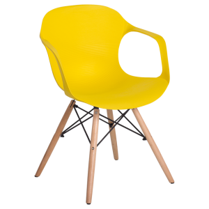 Dining chair Carmen 9964 - yellow - 1