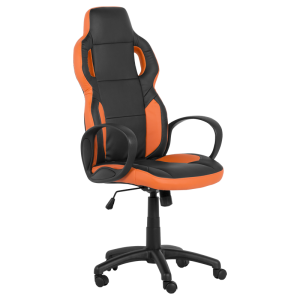 President Office Chair Carmen 7510 Black Orange Price 93 87 Eur Gaming Chairs Furniture Bittel
