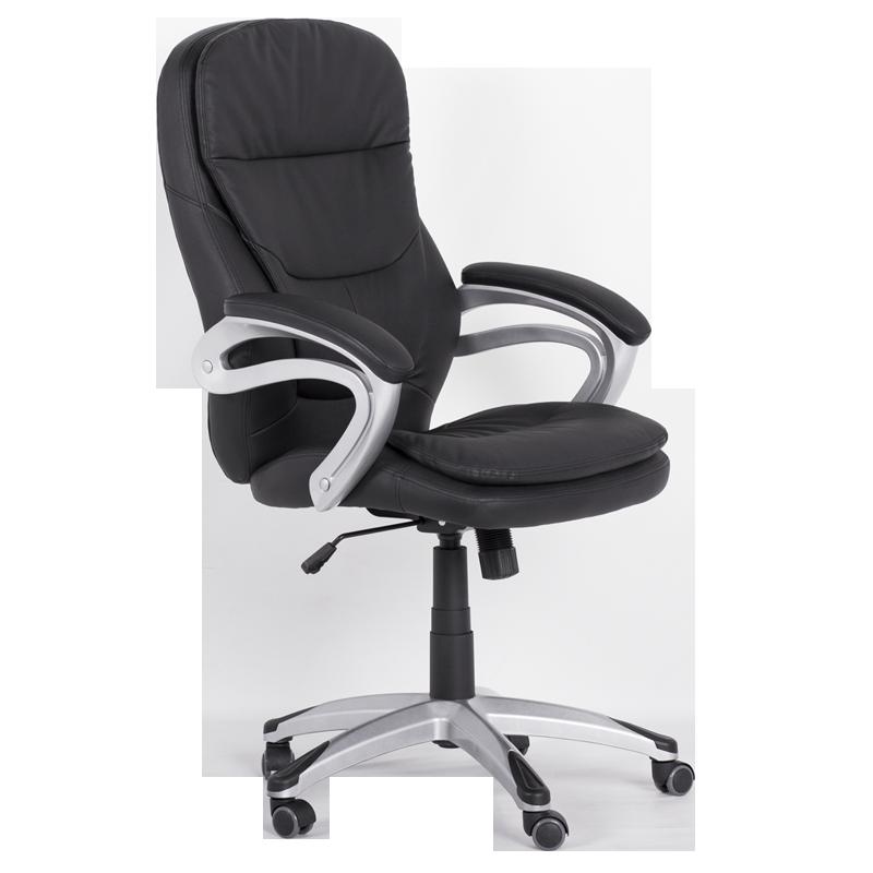 president office chair black. President Office Chair Carmen 6156 - Black LUX R