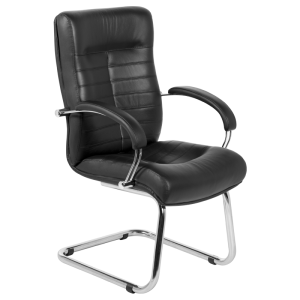 Visitor chair Orion - black LUX
