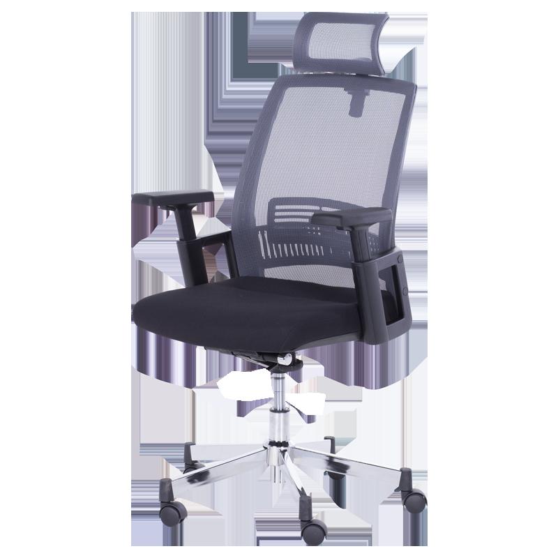 president office chair black. President Office Chair Carmen 7514 - Graphite / Black