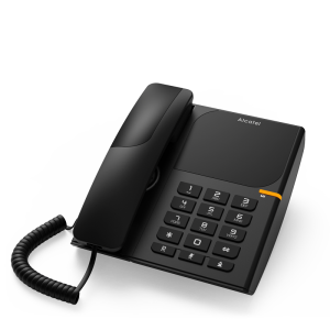 Landline phone Alcatel T28 - black