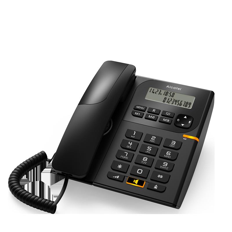 Landline Phone Alcatel T58 Black Price 23 01 Eur