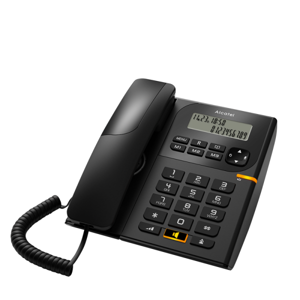 Landline phone Alcatel T58 - black
