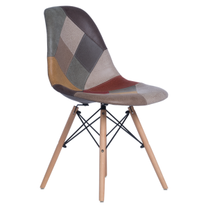 Dining chair 9966 X - patchwork - 1