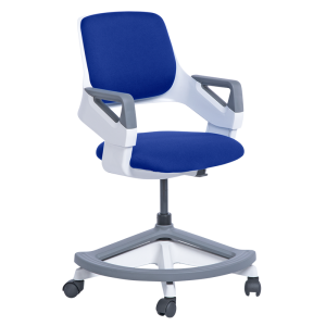 Kids' desk chair CLEVER - royal blue