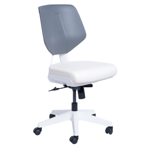 Working chair SMART - white AS
