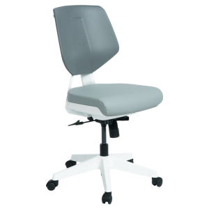 Working chair SMART LUX - Grey SIL