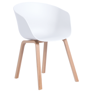 Dining chair Carmen 9972 - white
