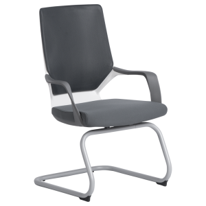 Visitor chair GALA - grey