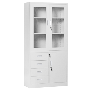 Metal cabinet Carmen CR-1278 E - grey
