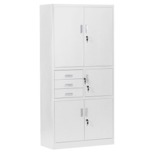 Metal cabinet Carmen CR-1281 E - grey
